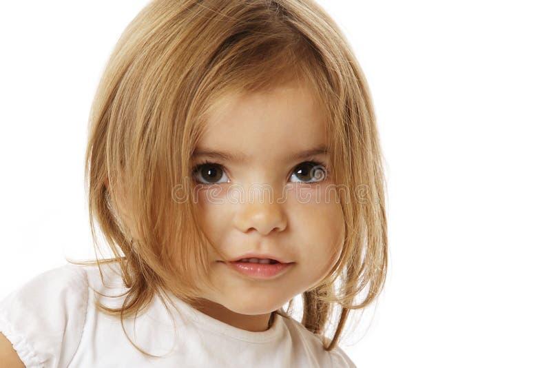 χαριτωμένο κορίτσι λίγα στοκ εικόνες