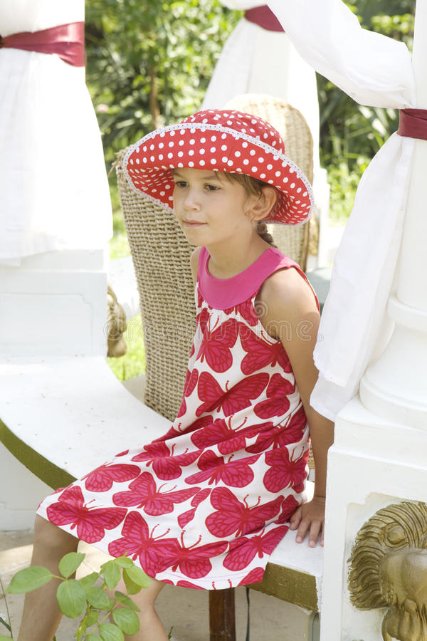 χαριτωμένο κορίτσι λίγη επ στοκ φωτογραφία με δικαίωμα ελεύθερης χρήσης