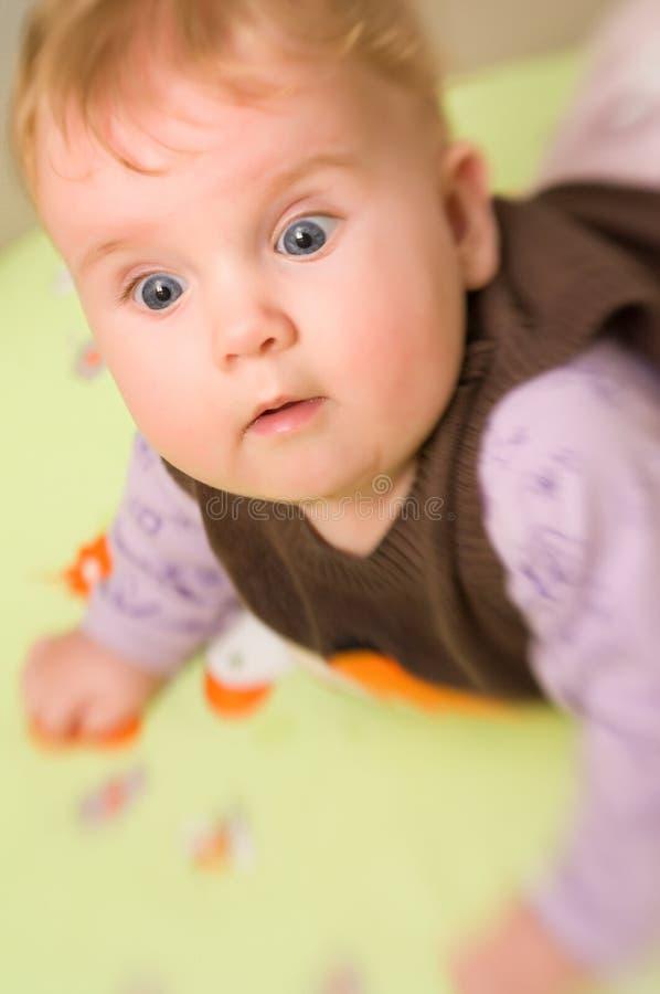 χαριτωμένο κορίτσι μωρών στοκ φωτογραφίες