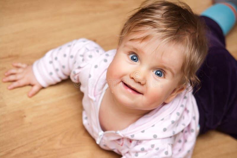 χαριτωμένο κορίτσι μωρών στοκ φωτογραφία