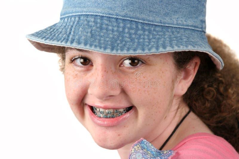 χαριτωμένο κορίτσι στηριγ στοκ φωτογραφίες με δικαίωμα ελεύθερης χρήσης