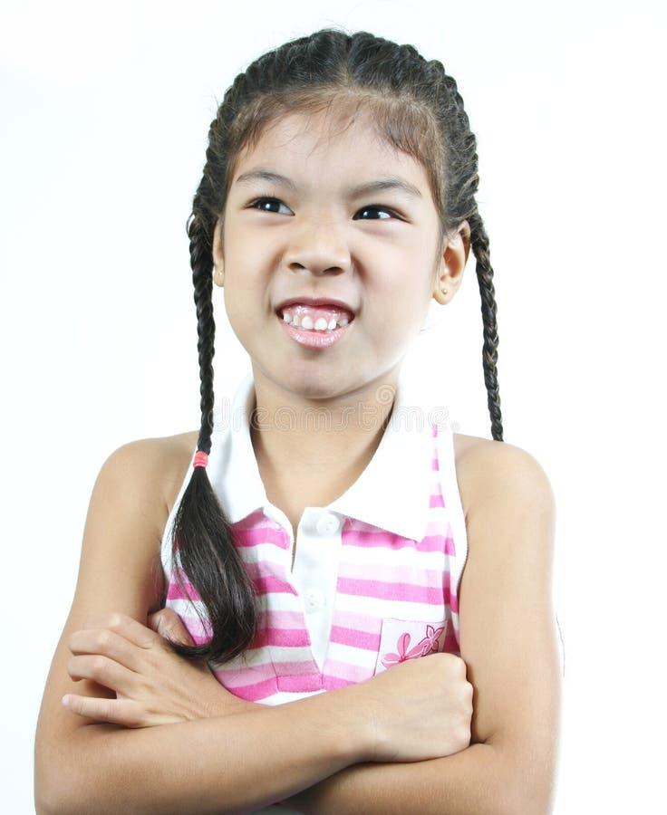 χαριτωμένο κορίτσι 82 λίγα στοκ εικόνες