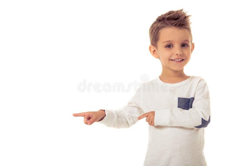 Χαριτωμένο μικρό παιδί στοκ εικόνα