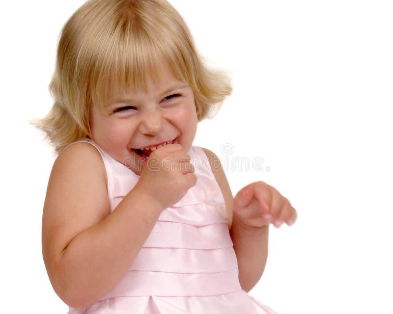Χαριτωμένο νέο προσχολικό κορίτσι στοκ εικόνα με δικαίωμα ελεύθερης χρήσης