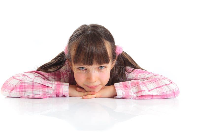 χαριτωμένο πορτρέτο κοριτ στοκ φωτογραφία