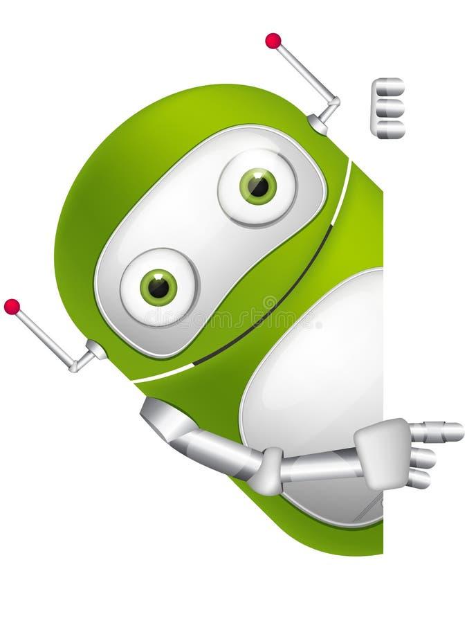 Χαριτωμένο ρομπότ απεικόνιση αποθεμάτων