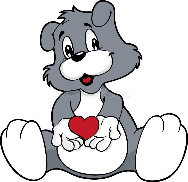 χαριτωμένο σκυλί διανυσματική απεικόνιση