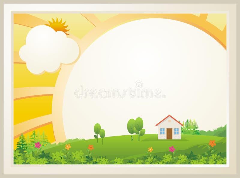 Χαριτωμένο σχέδιο προτύπων διπλωμάτων παιδιών διανυσματική απεικόνιση