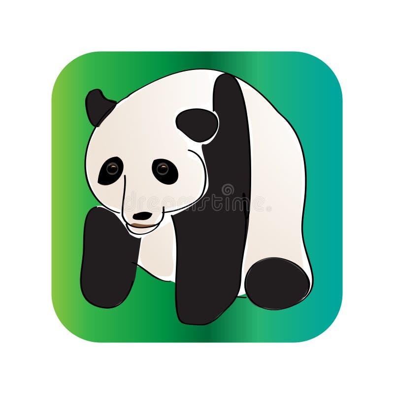 χαριτωμένο panda στοκ φωτογραφίες με δικαίωμα ελεύθερης χρήσης
