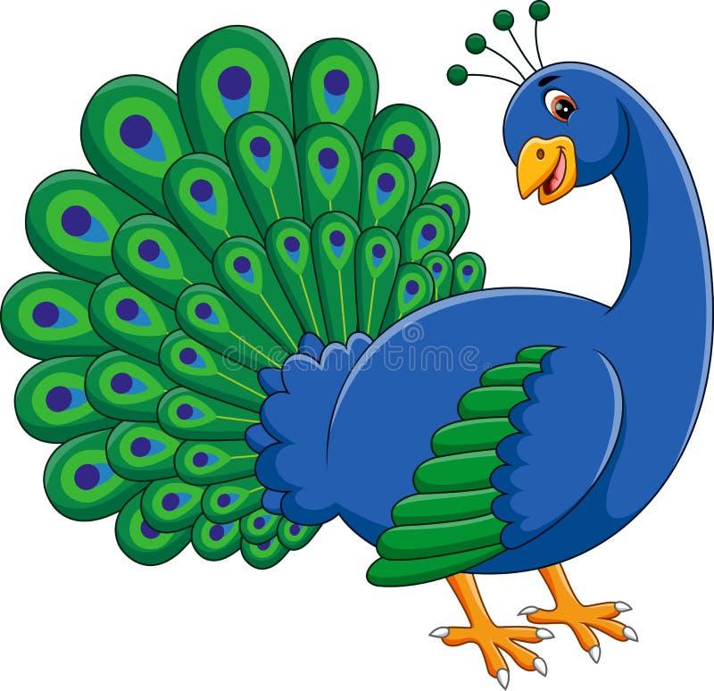 χαριτωμένο peacock στοκ εικόνες