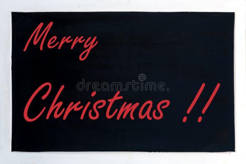 Χαρούμενα Χριστούγεννα διαφήμισης πινάκων στοκ εικόνες
