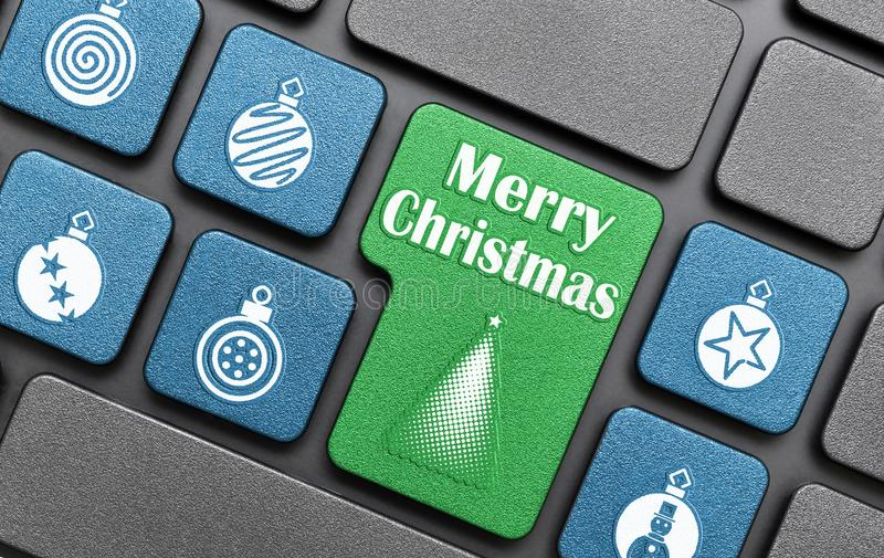 Χαρούμενα Χριστούγεννα ελεύθερη απεικόνιση δικαιώματος