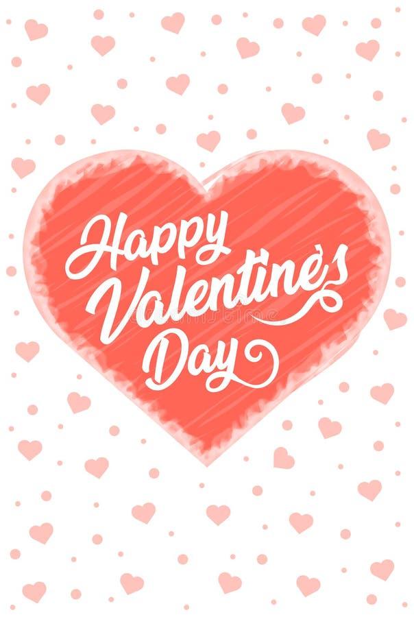 Χαρούμενοι βαλεντίνοι αφίσα διανύσματος ημέρας, χαρούμενο ρομαντικό πανό ημέρας, ερωτικό φόντο, απεικόνιση διανύσματος ημέρας αγά στοκ φωτογραφίες