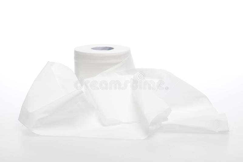 Χαρτί τουαλέτας στοκ φωτογραφία με δικαίωμα ελεύθερης χρήσης