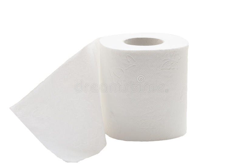 Χαρτί τουαλέτας. στοκ εικόνες με δικαίωμα ελεύθερης χρήσης