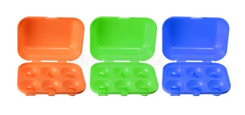 Χαρτοκιβώτια αυγών παιχνιδιών στοκ φωτογραφίες με δικαίωμα ελεύθερης χρήσης