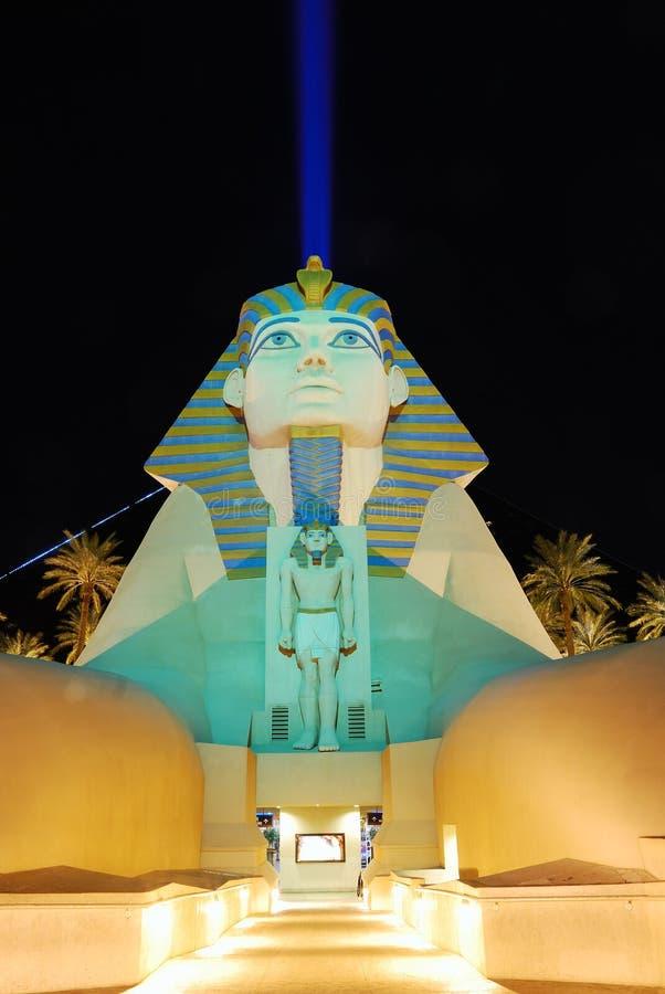 Χαρτοπαικτική λέσχη ξενοδοχείων του Λας Βέγκας Luxor στοκ εικόνα με δικαίωμα ελεύθερης χρήσης