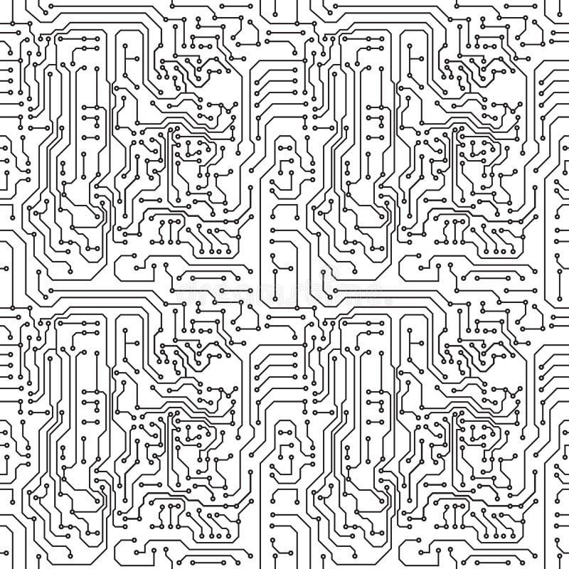 Χαρτόνι κυκλωμάτων διανυσματική απεικόνιση
