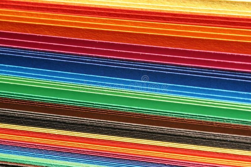 χαρτόνι που χρωματίζεται στοκ εικόνες
