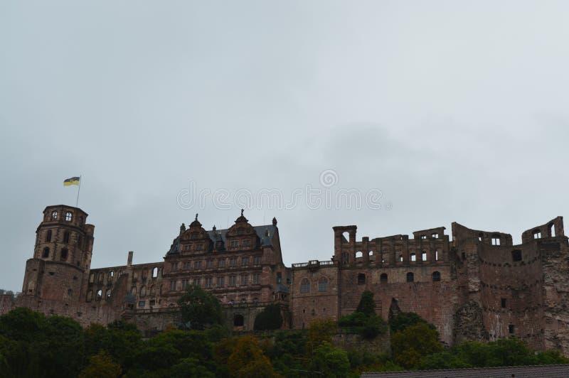 Χαϋδελβέργη Schloss στοκ εικόνες με δικαίωμα ελεύθερης χρήσης