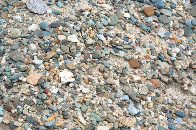 Χαλίκι στην άμμο στοκ φωτογραφία