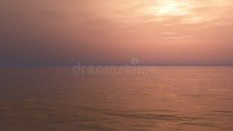 Χαλαρώνοντας υπόβαθρο ηλιοβασιλέματος ελεύθερη απεικόνιση δικαιώματος