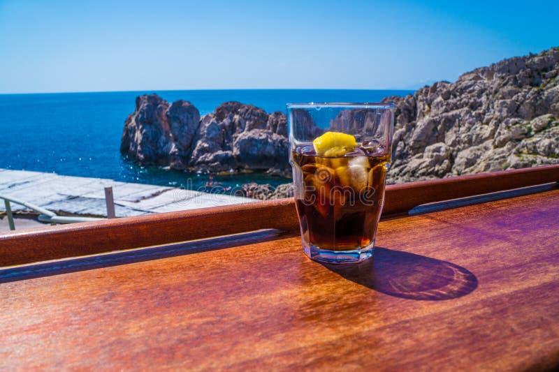 Χαλαρώστε σε Capri στοκ εικόνα