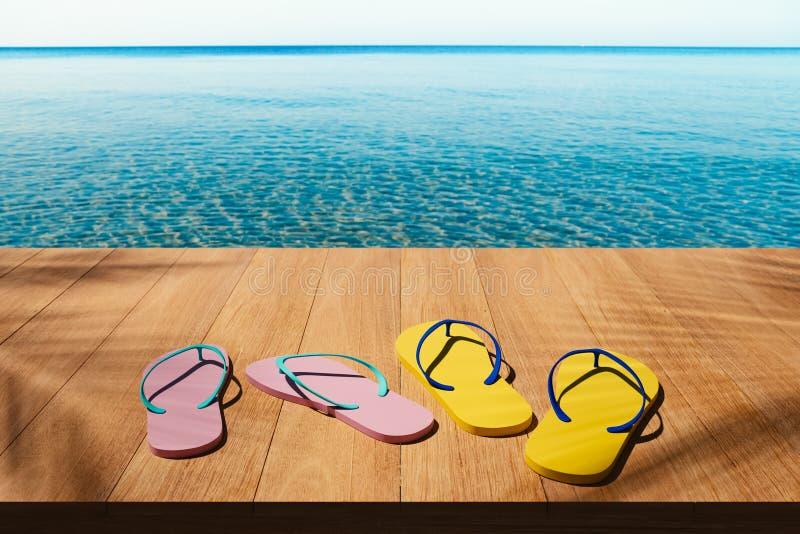 Χαλαρώστε στην ακτή στοκ εικόνες
