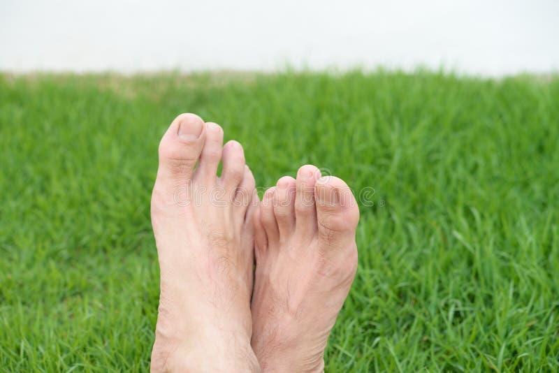 Χαλαρώστε τα πόδια στοκ φωτογραφία