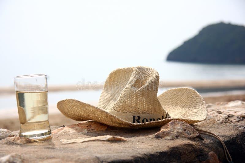 Χαλαρώστε το χρόνο στην παραλία στοκ εικόνες με δικαίωμα ελεύθερης χρήσης
