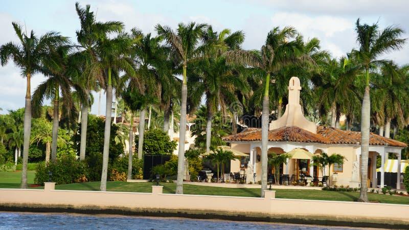 Χαλώ-α-Lago θέρετρο, Palm Beach, Φλώριδα στοκ εικόνες με δικαίωμα ελεύθερης χρήσης