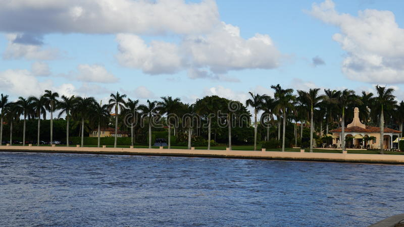 Χαλώ-α-Lago, Palm Beach, Φλώριδα στοκ φωτογραφίες