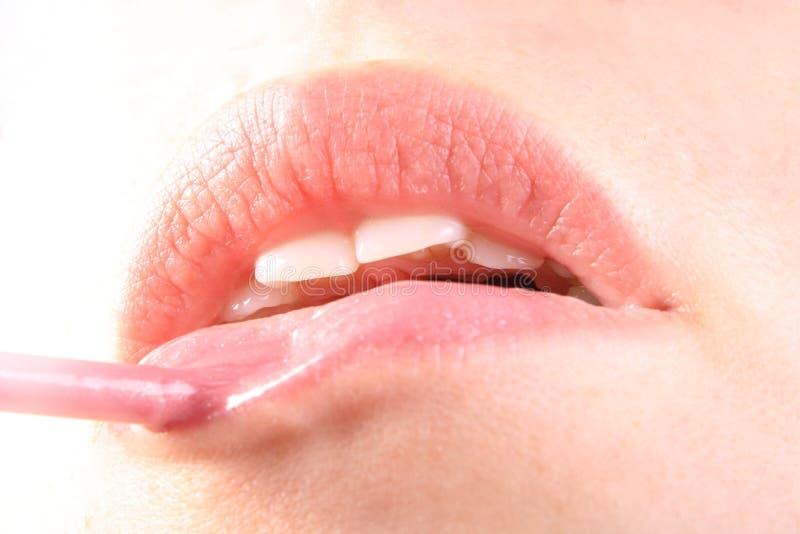 Download χείλια στοκ εικόνες. εικόνα από μόδα, κορίτσι, άνθρωποι - 13175390