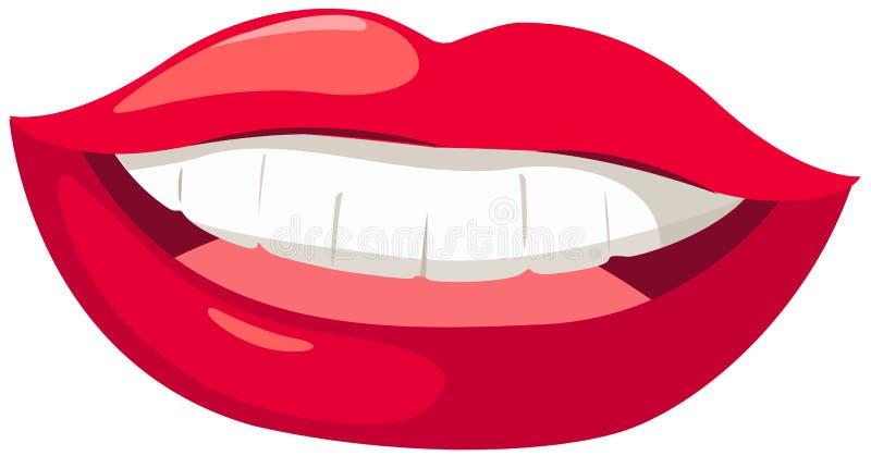 χείλια διανυσματική απεικόνιση