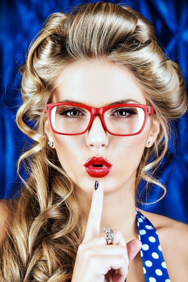 Χείλια καλλυντικών στοκ εικόνες με δικαίωμα ελεύθερης χρήσης