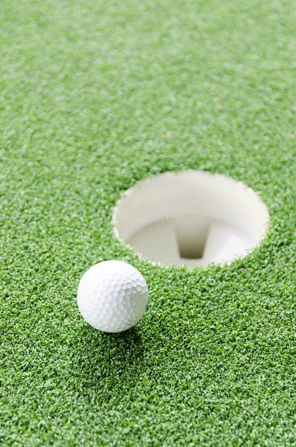 χείλι γκολφ φλυτζανιών σ στοκ εικόνα