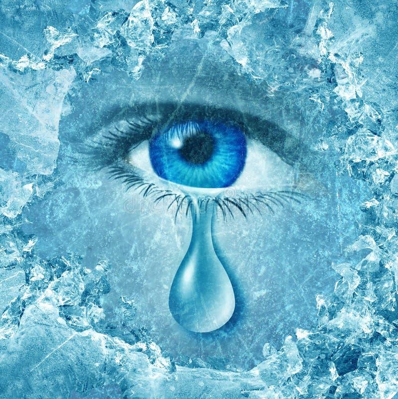 Χειμερινά μπλε ελεύθερη απεικόνιση δικαιώματος