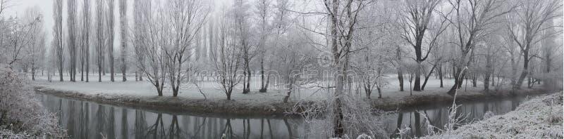Χειμερινά τοπία στοκ εικόνες