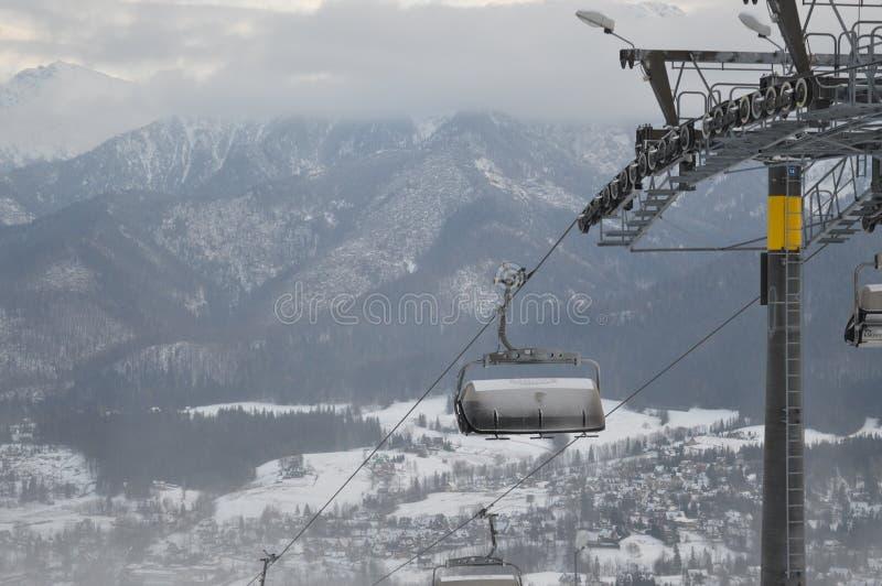 Χειμερινές διακοπές σε Zakopane στοκ φωτογραφία