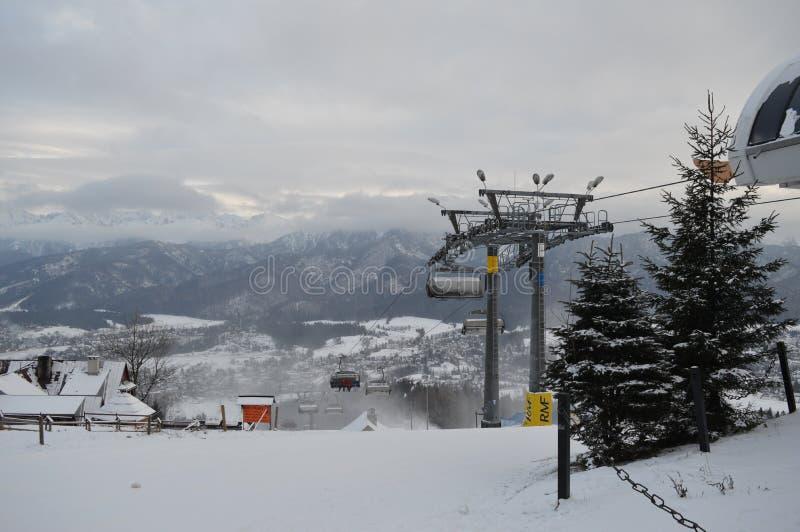 Χειμερινές διακοπές σε Zakopane στοκ φωτογραφία με δικαίωμα ελεύθερης χρήσης