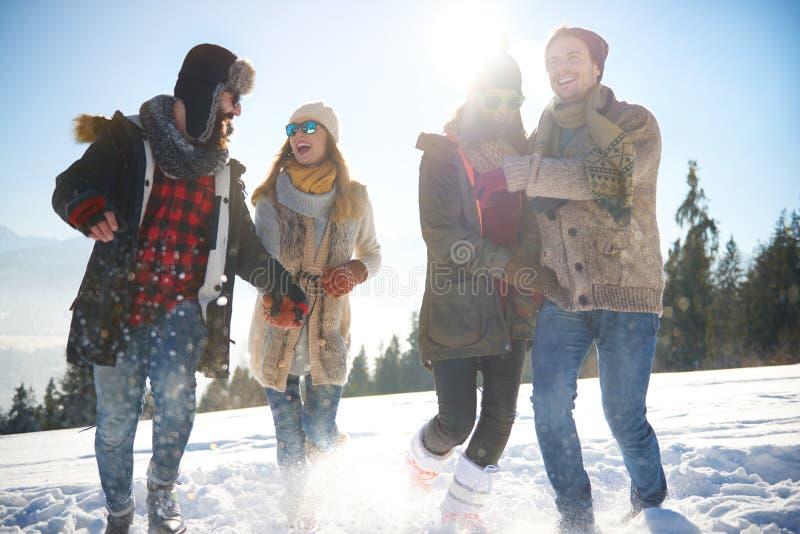 Χειμερινές διακοπές στοκ εικόνα με δικαίωμα ελεύθερης χρήσης