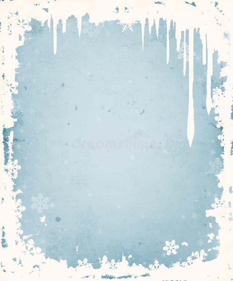 Χειμερινή ανασκόπηση ελεύθερη απεικόνιση δικαιώματος