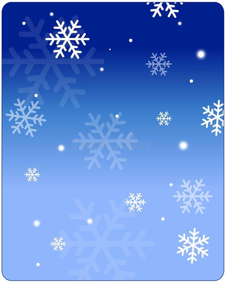 Χειμερινή ανασκόπηση διανυσματική απεικόνιση