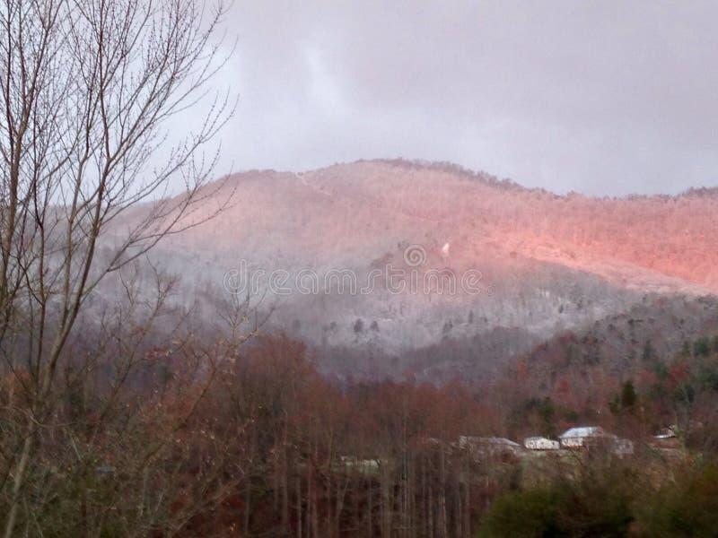 Χειμερινή ανατολή στοκ φωτογραφίες