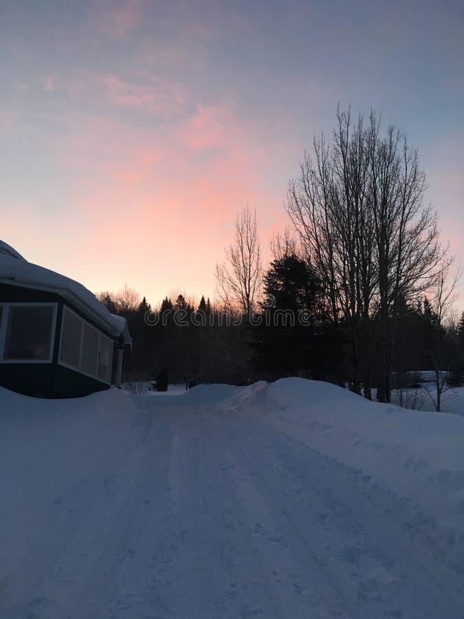 Χειμερινή ανατολή στοκ φωτογραφία με δικαίωμα ελεύθερης χρήσης