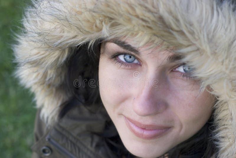 χειμερινή γυναίκα στοκ φωτογραφία με δικαίωμα ελεύθερης χρήσης