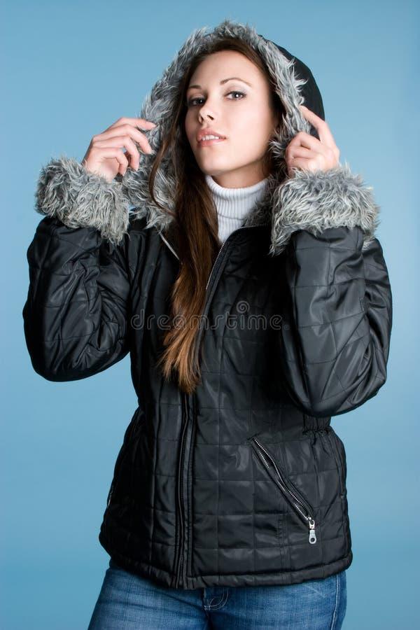 χειμερινή γυναίκα στοκ εικόνες