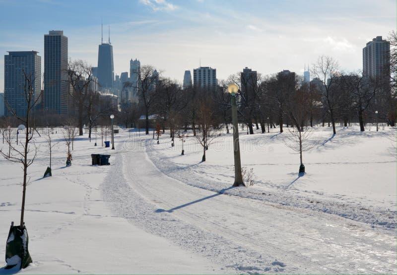 Χειμερινή πορεία στοκ εικόνα με δικαίωμα ελεύθερης χρήσης