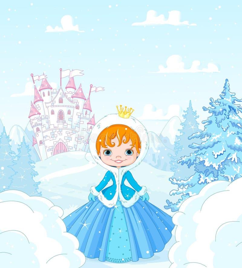 Χειμερινή πριγκήπισσα απεικόνιση αποθεμάτων