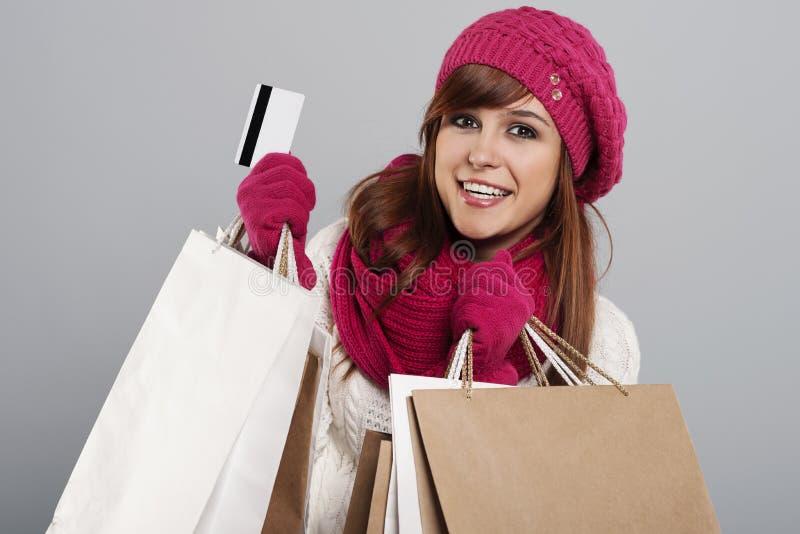 Χειμερινή πώληση στοκ φωτογραφία